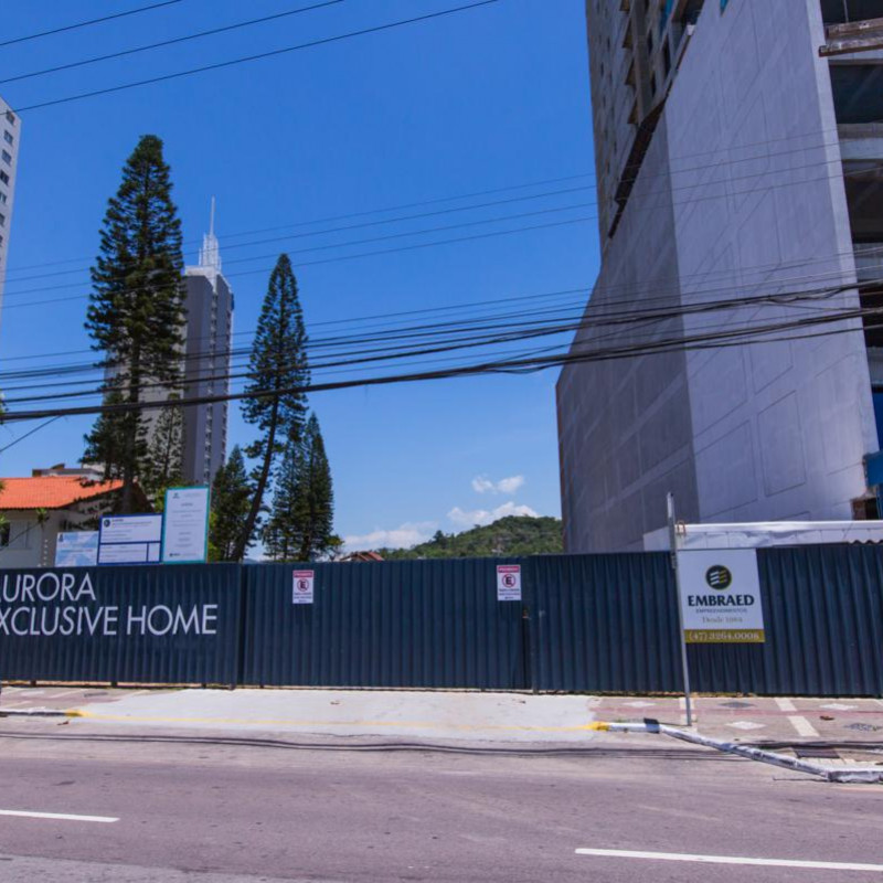 ACOMPANHAMENTO DE OBRA FEVEREIRO 2019 - AURORA
